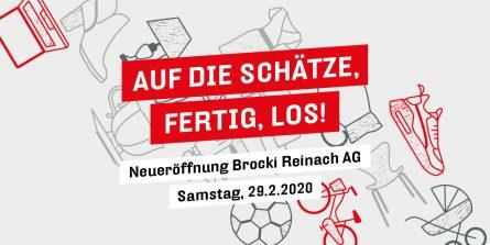 Neueröffnung Heilsarmee brocki Reinach