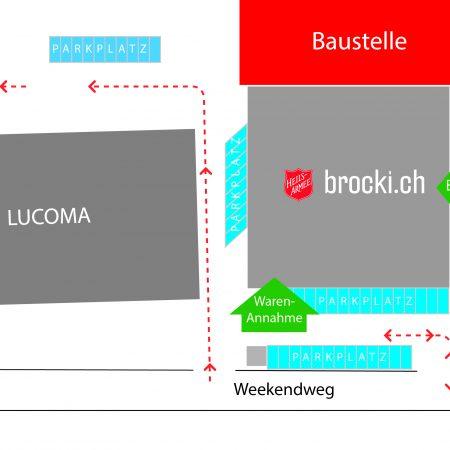 Skizze Baustelle Einigen_Phase2