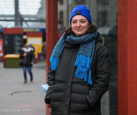 Media: Sie begleitet Menschen auf der Strasse durch die Pandemie