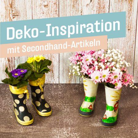 Deko-Inspiration mit Secondhand-Artikeln