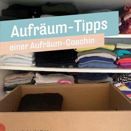 Aufräum-Tipps